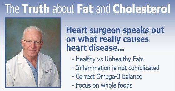 """A former Heart Surgeon says forget the """"science"""" that has been drummed into your head for decades. The science that saturated fat alone causes heart disease is non-existent. The science that saturated fat raises blood cholesterol is also very weak..."""