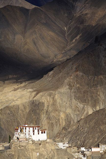 Lamayuru monastery   Staying in this location provides many impressions …. would not collapse?