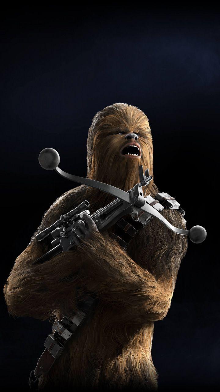 Chewbacca Star Wars Battlefront Ii Video Game 720x1280 Wallpaper Star Wars Chewbacca Star Wars Battlefront Star Wars