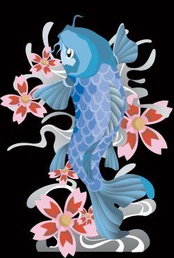 87 best koi tattoo images on pinterest for Koi fish symbolism