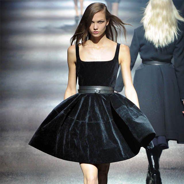 Lanvin Black Velvet Dress  genewickerjr .