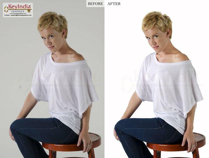 Model Retouching by KeyIndia Graphics