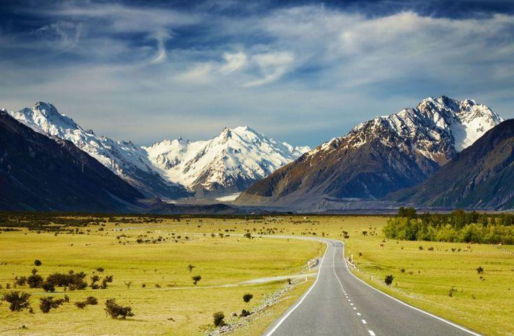 Alpes du sud Nouvelle Zelande