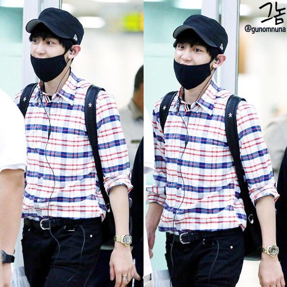 Chanyeol | 150720 Gimpo Airport arrival from Beijing