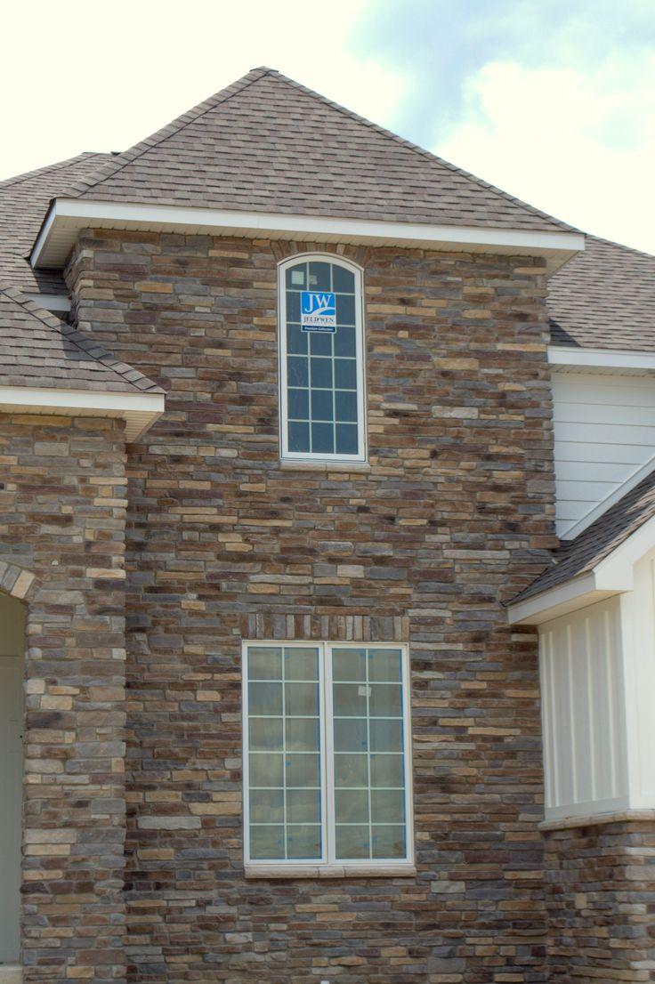 Stone Exterior Home Bucks Creek Laytite J&N Stone