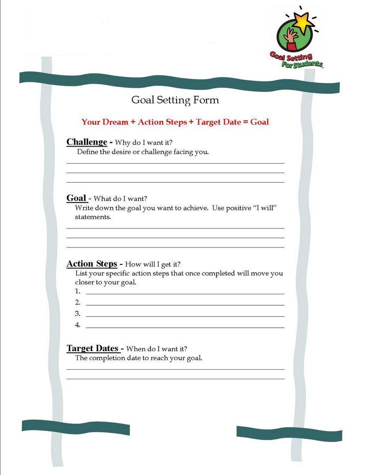 Best 25+ Student goal settings ideas on Pinterest | Elementary ...