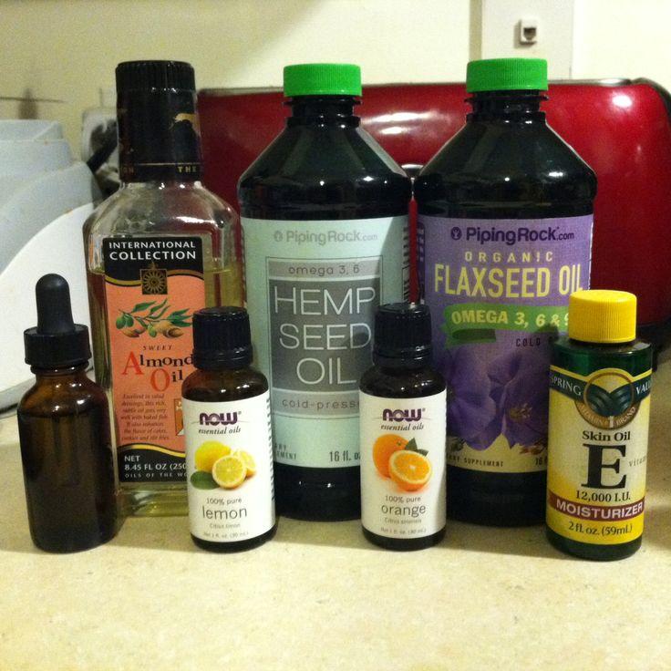 Beard Oil:  1.5 tsp hemp oil, 1.5 tsp sweet almond oil, 1.0 tsp flaxseed oil, 0.5 tsp vitamin E oil, 5 drops orange essential oil, 3 drops lemon essential oil. --Into the dropper bottle it goes, shake shake shake. A couple drops onto the comb and into the beard! Ah, softness. You know you want to touch it.