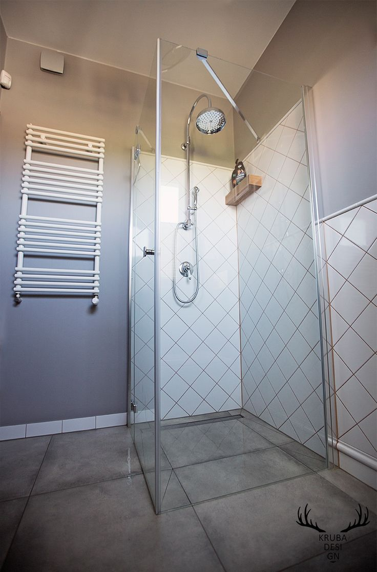 Mała łazienka.