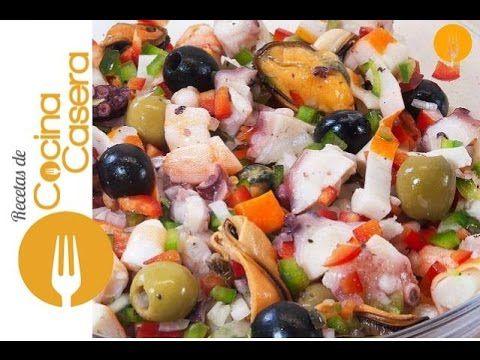 Salpicón de Marisco - Recetas de Cocina Casera - Recetas fáciles y sencillas