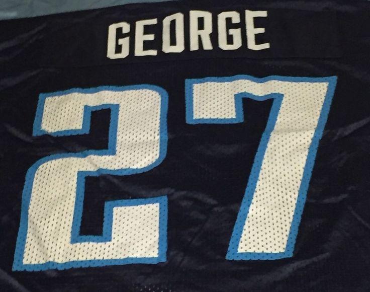 Tennessee Titans Eddie George Nike NFL Large Jersey #Nike #TennesseeTitans
