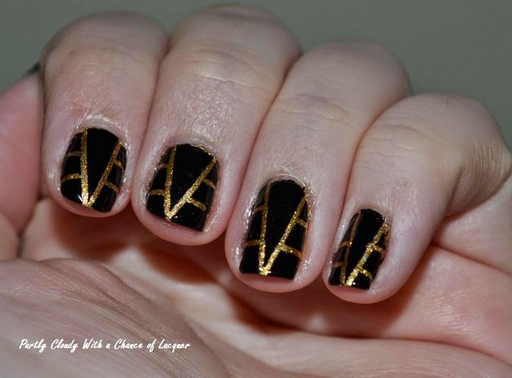 Partly Cloudy With a Chance of Lacquer - Art Deco