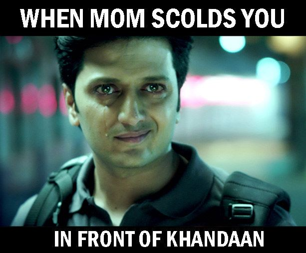 On hidden emotions. | 19 Painfully Accurate Pictures Every Desi Will Relate To