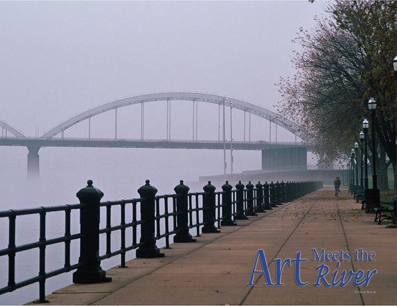 2016 Quad City Calendar Featuring Photos Of The Mississippi River Davenport Iowa Pinterest