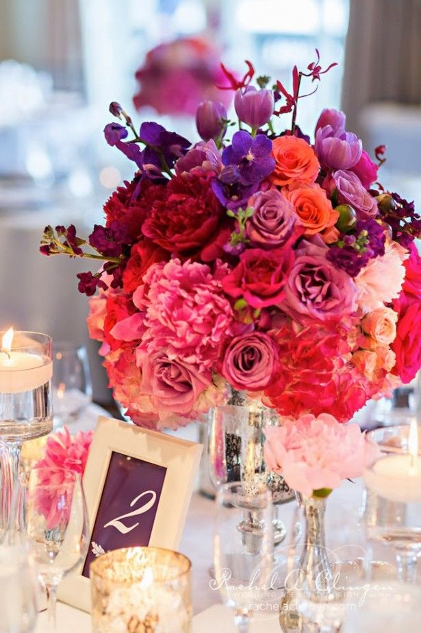 Girly and vibrant ~ Rowell Photography, Flowers: Rachel A. Clingen