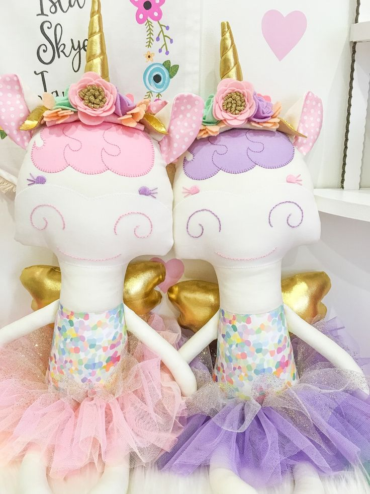 Image of Special Edition || Confetti Unicorn Doll