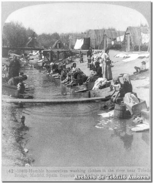 Río Manzanares. Madrid, 1906