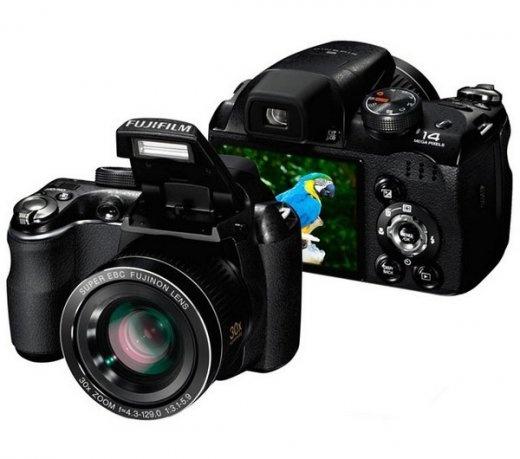 "Câmera Digital Fujifilm Semi Profissional Finepix S4500 / 14mp / Zoom 30x / Lcd 3.0"" / Hd - S4500. Cine/foto - Câmeras Digitais | Girafa"