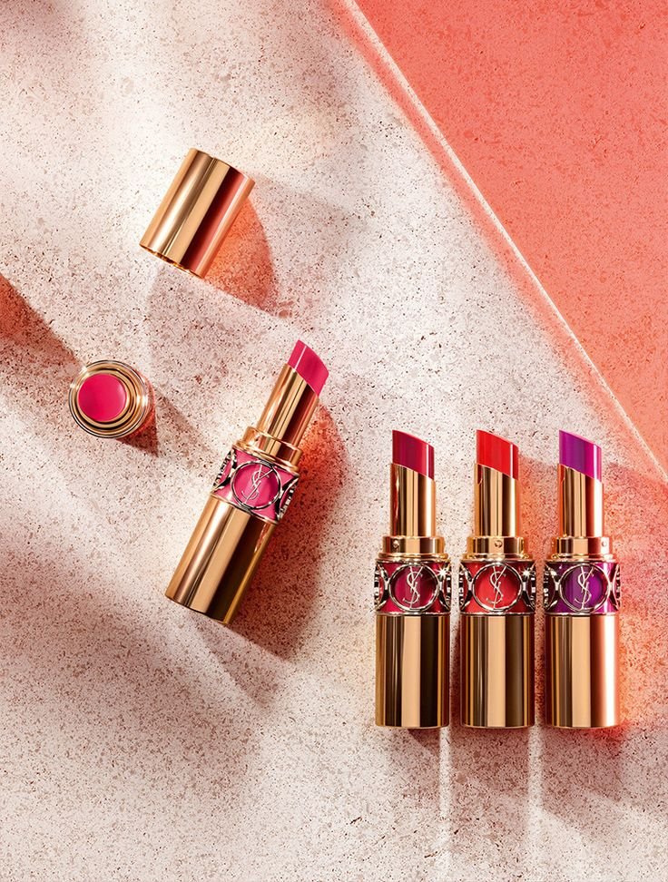 YSL Rouge Volupte Shine Oil-in-Stick Lipstick For Spring 2016