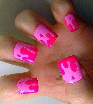 Splat! nails :)