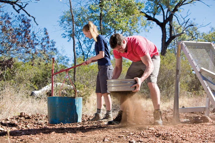Fossicking in the Sapphire Gemfields #country #travel #queensland