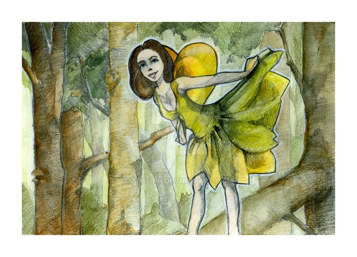 Forest Fairy by art-ori.deviantart.com on @DeviantArt