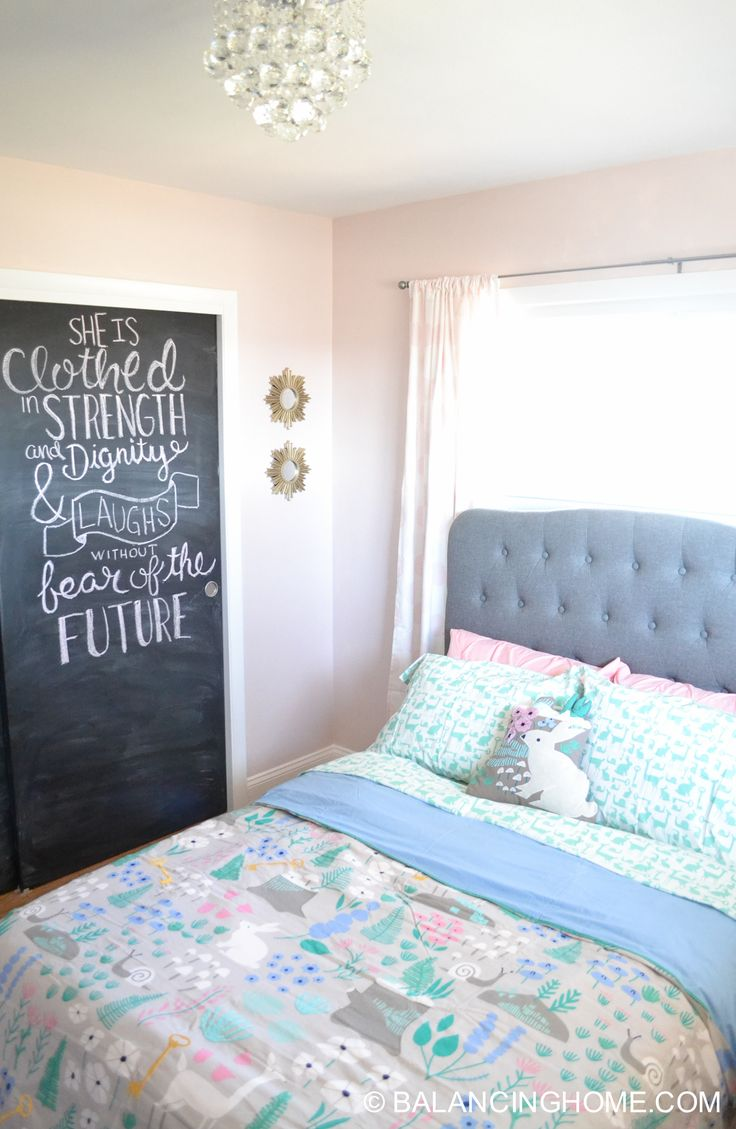 1000 ideas about gray pink bedrooms on pinterest - Beautiful girls bedroom furniture ...