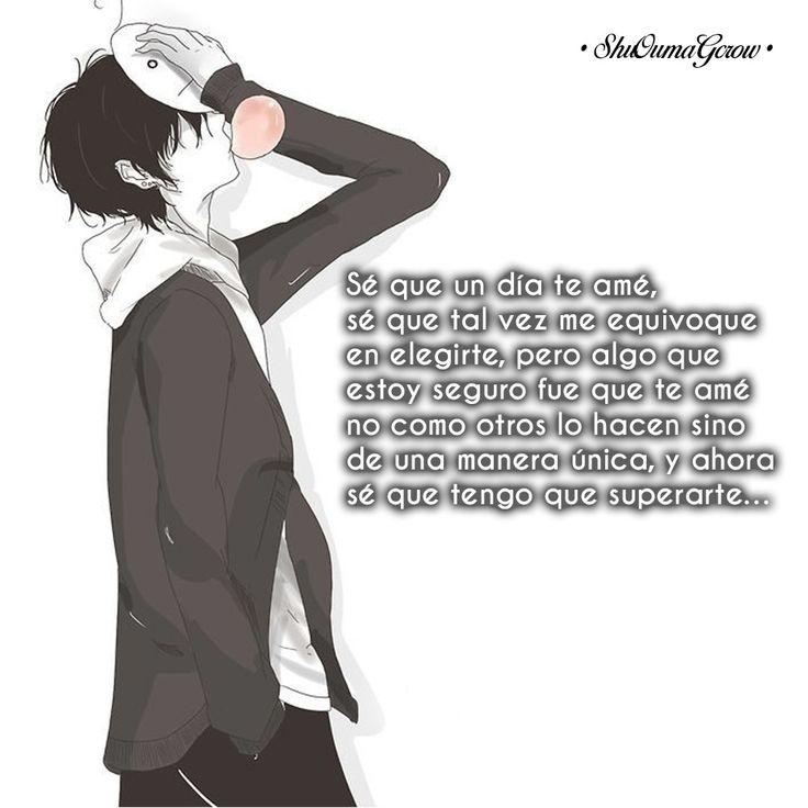 Se que un día te ame. #ShuOumaGcrow #Anime #Frases_anime #frases