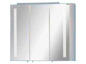 Fackelmann Spiegelschrank EEK: A Lugano 80 cm Weiß