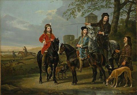 Starting of the Hunt. Metropolitan Museum of Art.