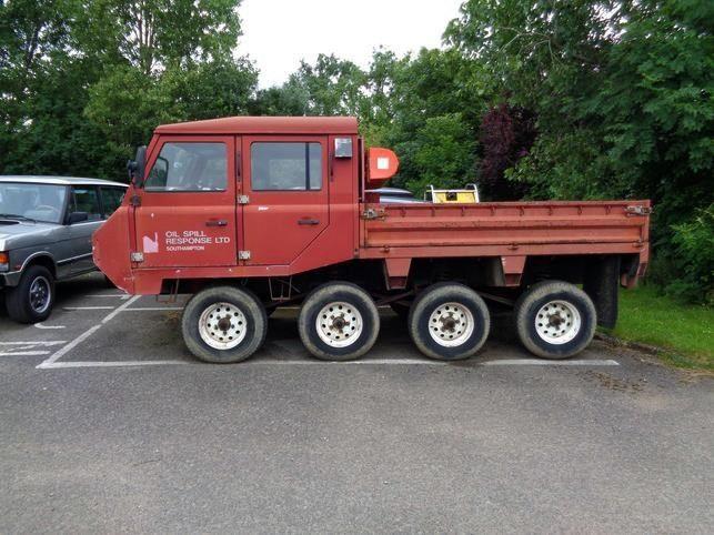 1992 Land Rover Fire Engine Hugo 8x8 Trucks Firetrucks Cars