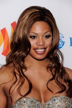 """Laverne Cox is an actress, writer, producer speaker and transgender advocate, and star of the new series """"Orange is the New Black."""""""