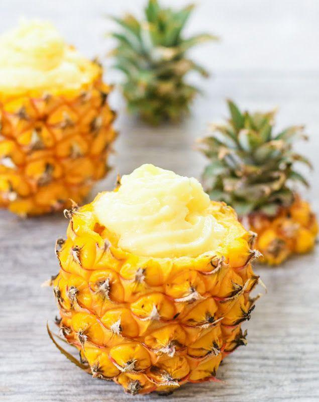 Pineapple Dole Whip Copycat | Kirbie's Cravings | A San Diego food & travel blog