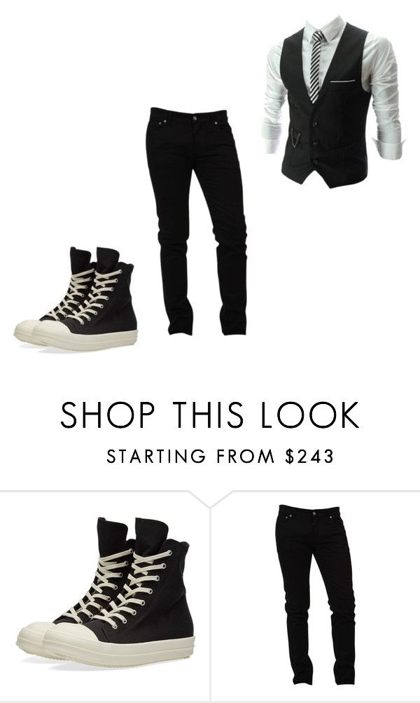 #1 by sadradinova-polina on Polyvore featuring Dolce&Gabbana, DRKSHDW, mens, men, men's wear, mens wear, male, mens clothing and mens fashion