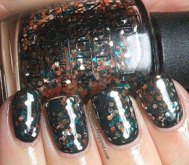 Icy Nails: OPI The Living Daylights: Swatch and Review #nailpolish #OPI