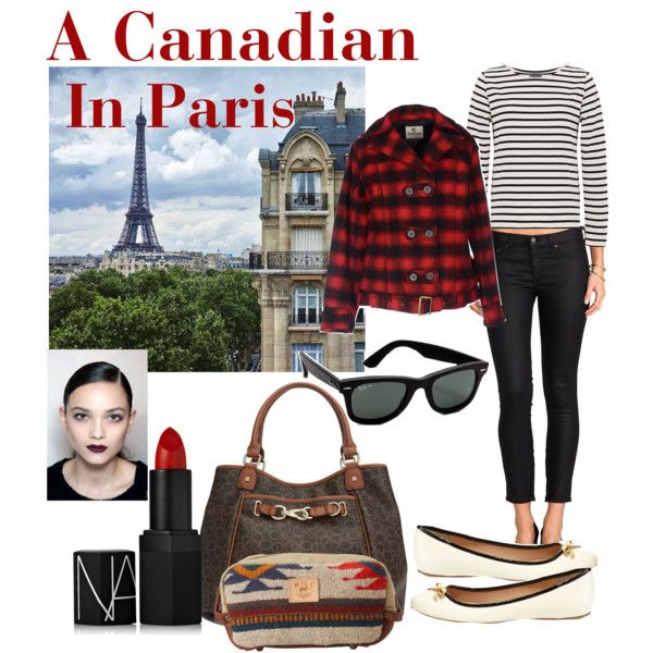 """""""A Canadian In Paris"""" by caryvanessa on Polyvore"""