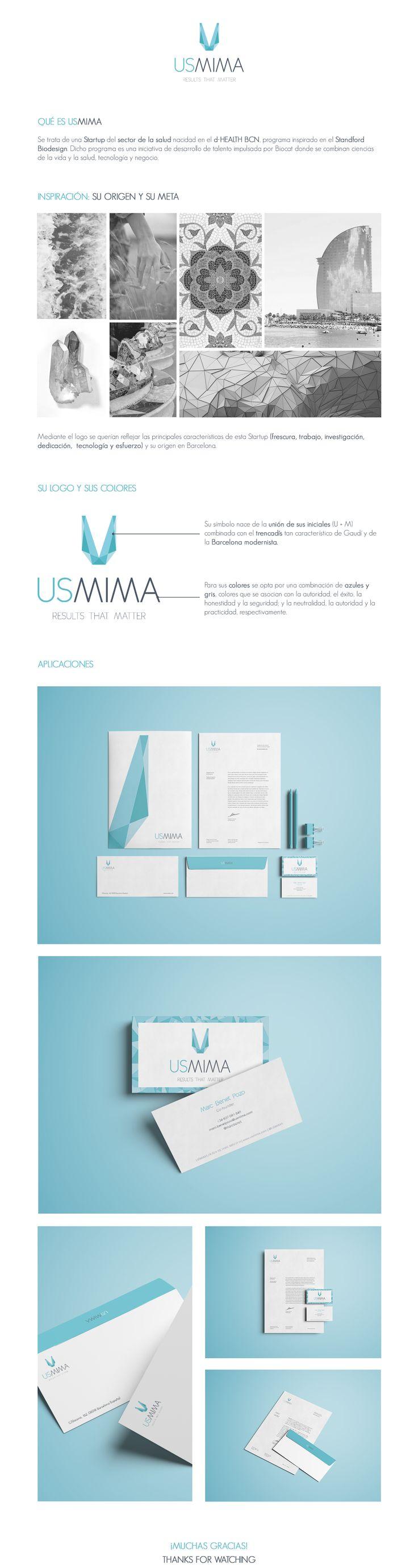 Usmima Logo on Behance