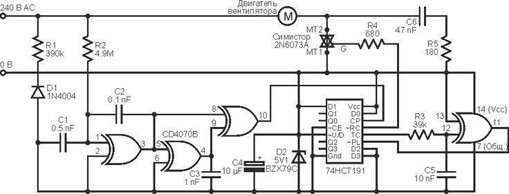 С этим регулятором скорости вращения вентилятора вы будете спать спокойно