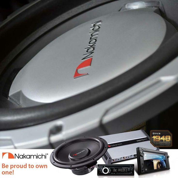 Giving you the best of in-car entertainment...  Be Proud to own one!  #NakamichiSA #InCarEntertainment #CarAudio