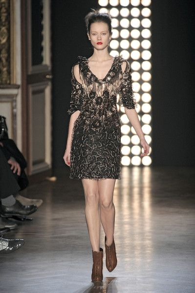 Sophia Kokosalaki at Paris Fashion Week Fall 2010 - Runway Photos