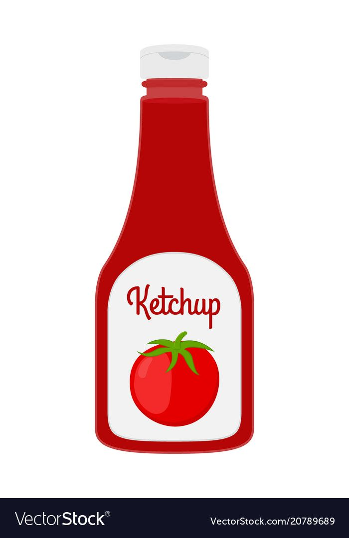 Vector Ketchup Bottle In Cartoon Style Red Tomato Sauce Condiment In Transparent Glass Plastic Bottle Download A Free Preview Or High Quality A Patung Huruf