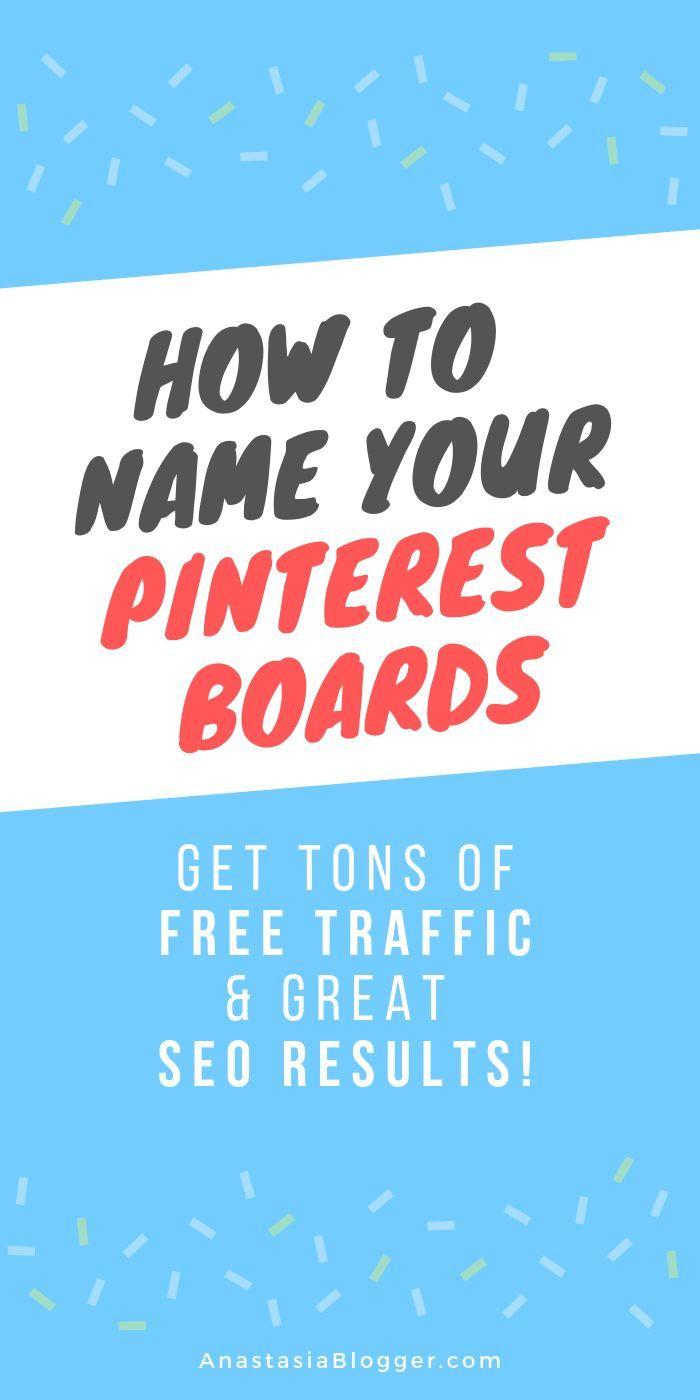 Ideen und Namen für Pinterest-Boards im Jahr 2019 (+ Liste der Pinterest-Kategorien)