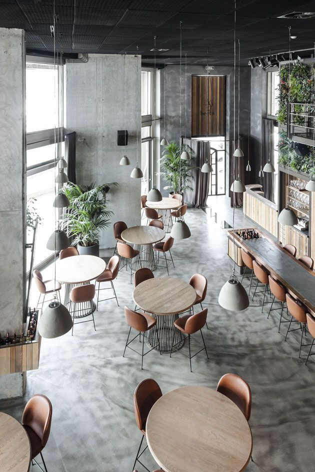 KiwiStudio   Design interior de cafenea: picaturi de inspiratie