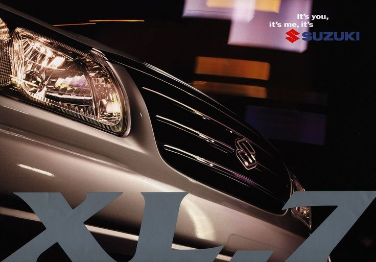 Suzuki XL-7;  2001  Australia | auto car brochure | by worldtravellib World Travel library - The Collection