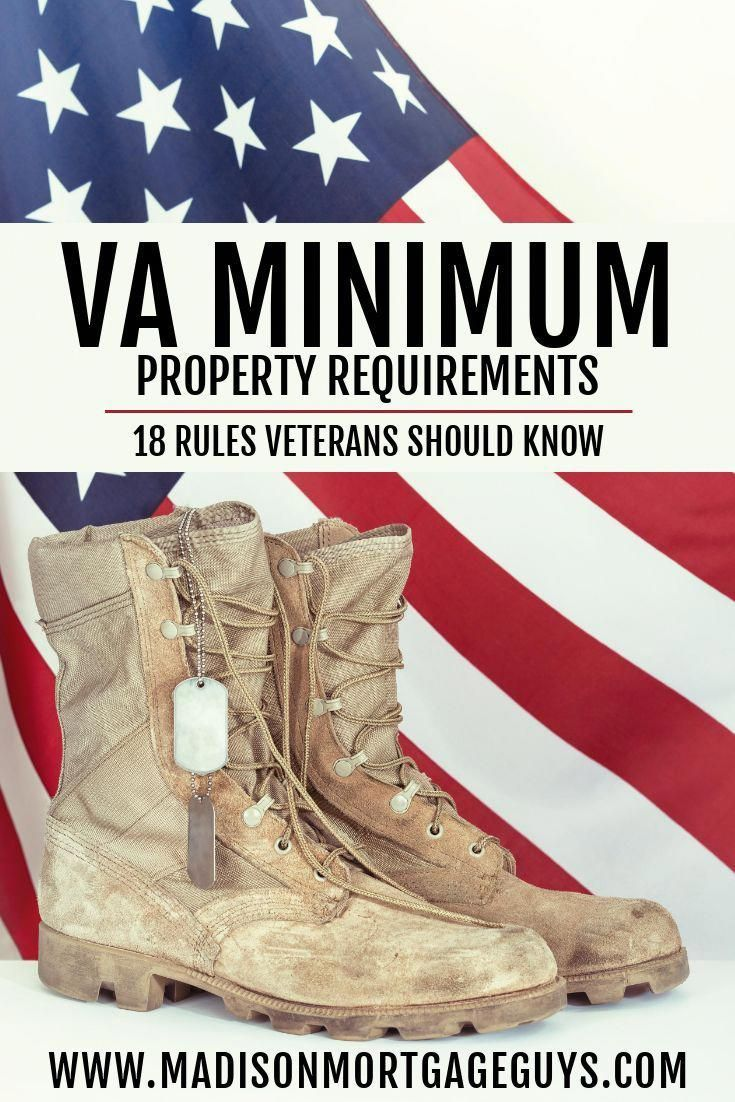 Va Minimum Property Requirements Buying First Home Real Estate Property