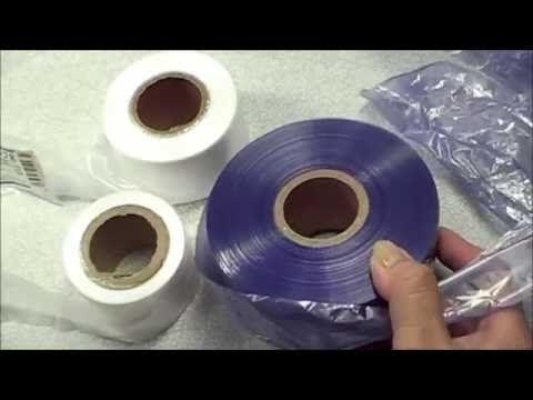 平巻きテープで四角底カゴ編みの為の準備動画です