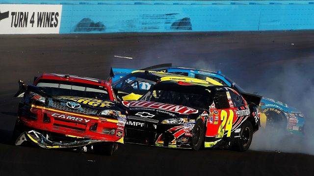 Jeff Gordon has had enough of Clint Bowyer