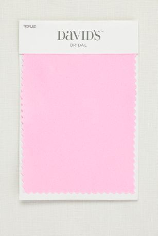 Tickled Satin Fabric Swatch
