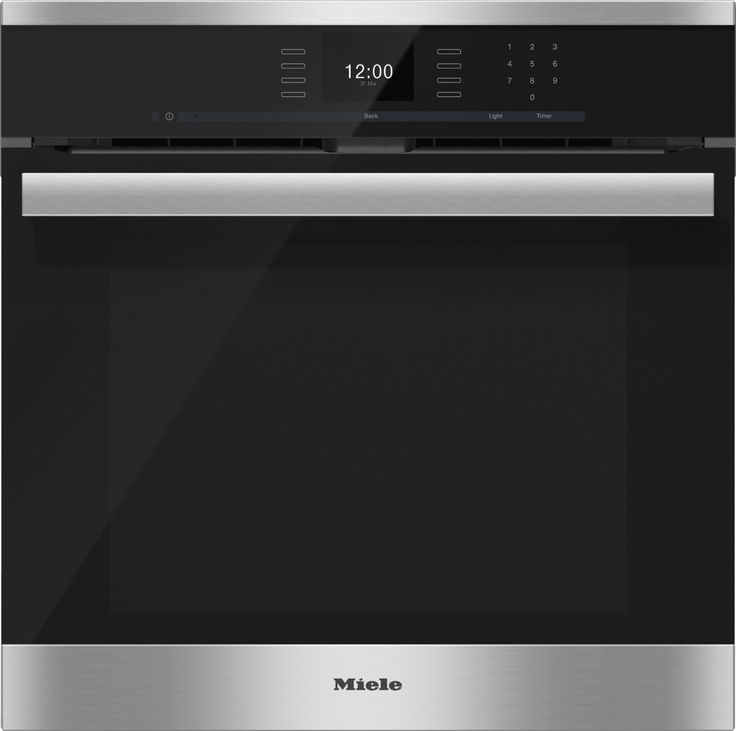 miele 24 h 6660 bp pureline sensortronic convection oven. Black Bedroom Furniture Sets. Home Design Ideas