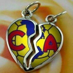 Dije Corazon - Fotos de Logo y Escudo del Club America