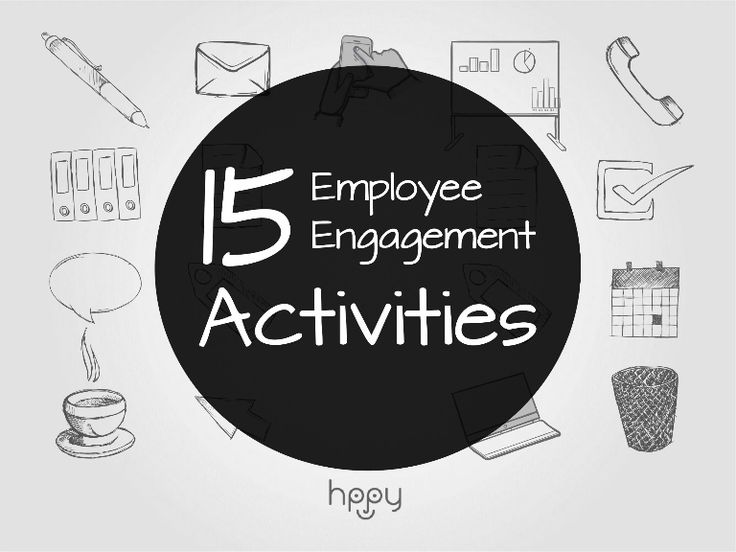 Whether you're simply browsing for some ideas that might boost up morale or if you're putting down the final details for your HR strategy, here are 15 employee engagement activities that you should try!